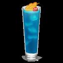 Cocktail Curacao Emoticon