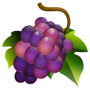 Grapes Emoticon