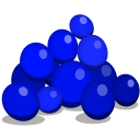 Blueberries Emoticon