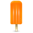 Ice Cream Orange Emoticon