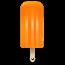 Ice Cream Orange Emoticon