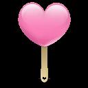 Ice Cream Heart Emoticon
