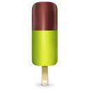Ice Cream Green Emoticon