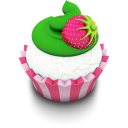 Vanilla Cupcake Emoticon