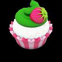 Vanilla Cupcake Emoticon