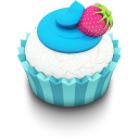 Ocean Cupcake Emoticon