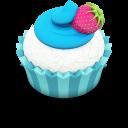 Ocean Cupcake Emoticon
