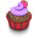 Berry Cupcake Emoticon