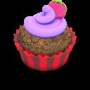Berry Cupcake Emoticon
