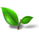 Tea Plant Leaf Emoticon