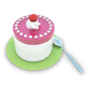 Tea Cake Emoticon