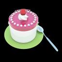 Tea Cake Emoticon
