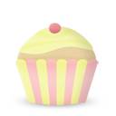 Cupcake Cake Vanilla Emoticon