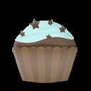 Cupcake Cake Stars Emoticon