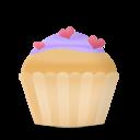 Cupcake Cake Hearts Emoticon