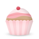 Cupcake Cake Cherry Emoticon