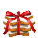 Gingerbread Stars Emoticon