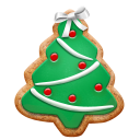 Christmas Cookie Tree Emoticon