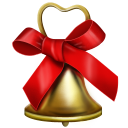 Christmas Bell Emoticon
