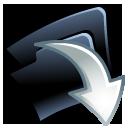 Folder Down Emoticon