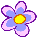 Flower Emoticon