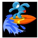 Surf Emoticon