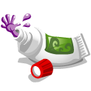 Toothpaste Monster Emoticon