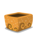 Folder Mud Open Emoticon