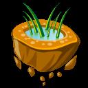 Flying Grass Emoticon