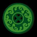 Disc Magic Grass Emoticon