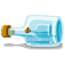 Bottle In The Bottle Emoticon