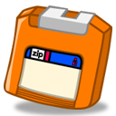 Zip Orange Emoticon