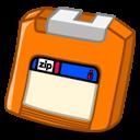 Zip Orange Emoticon