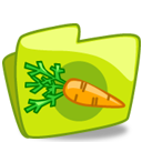 Carrot Folder Emoticon