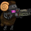 UT Player Shock Rifle Emoticon