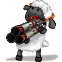 UT Player Rocket Launcher Emoticon