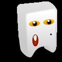 White Creature Emoticon