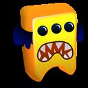 Orange Creature Emoticon