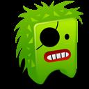 Green Creature Emoticon