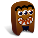 Brown Creature Emoticon