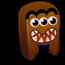 Brown Creature Emoticon