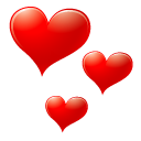 Red Heart Emoticon