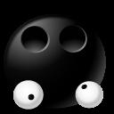 Eyes Droped Emoticon