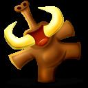 Mammoth Happy Emoticon