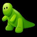 Dino Green Emoticon