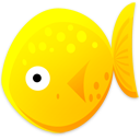 Yellow Fish Emoticon