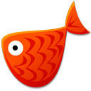 Red Fish Emoticon