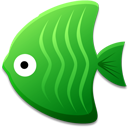 Green Fish Emoticon