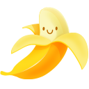 Yammi Banana Emoticon