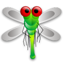 Dragon Fly Emoticon